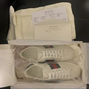 Gucci ace bee sneakers new